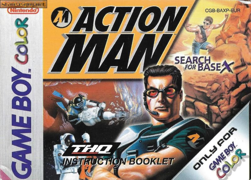 Screen - Action Man: Search for Base X