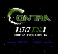 Gra 100-in-1 Contra Function 16