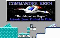 Commander Keen 0: Printed to Pluto