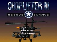 Gra Choplifter III: Rescue Survive